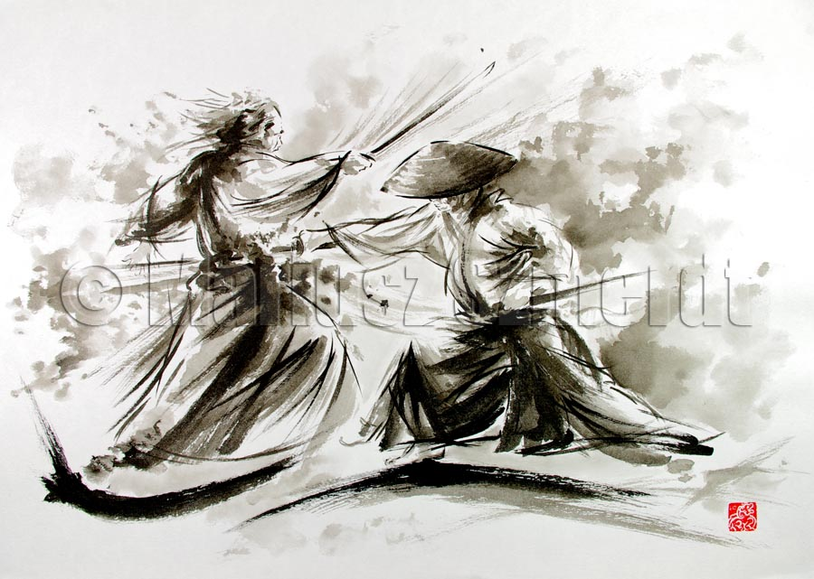 an analysis of samurai battle scenes painted in the 19th century It dominated japanese art from the 17th through 19th centuries, while the artists belonging to this genre produced woodblock prints and paintings of such subjects as female beauties, kabuki actors and sumo wrestlers, but also scenes from history and folk tales, travel scenes and landscapes, flora and fauna, and even.